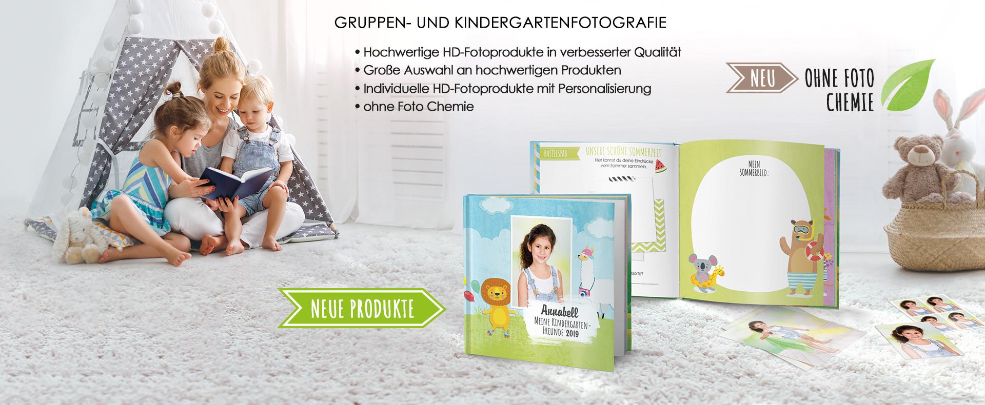GRUPPEN- UND KINDERGARTENFOTOGRAFIE